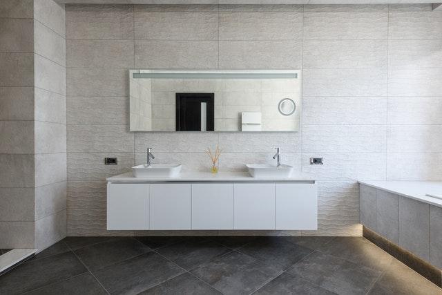 moderne design badkamer
